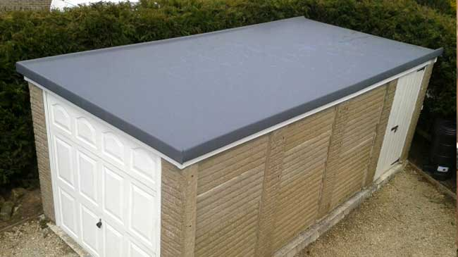 Fibre Glass Roofing by Newquay Garden Services